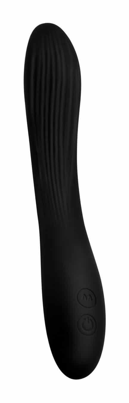 vibrador 7x Bendable Silicone Vibrator - Black