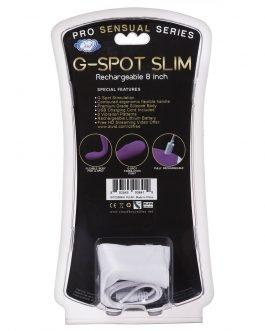 Vibrador flexible Cloud 9 Novelties G-Spot Slim 8 Inch
