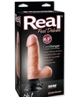 Vibrador – Real Feel Deluxe no.1 6.5-Inch – Flesh