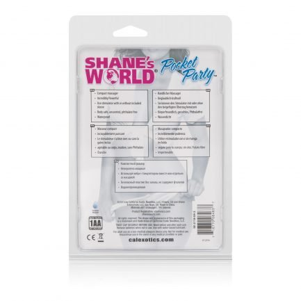 vibrador Shanes World Pocket Party - Pink